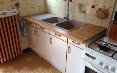 Remplacement meuble et évier