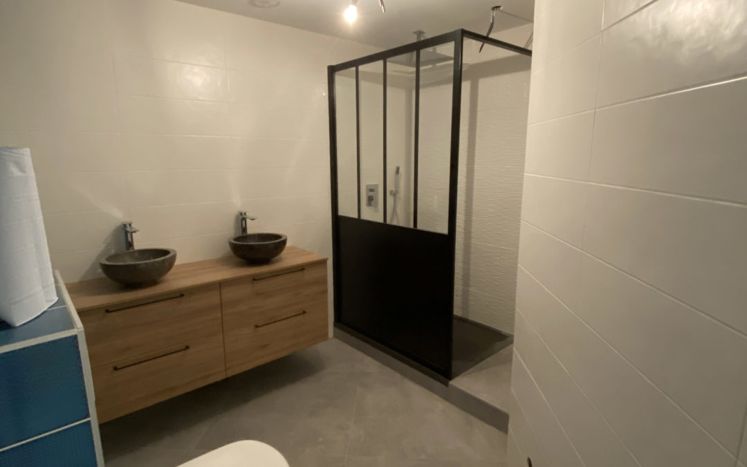 Rénovation salle de bain 12/2019