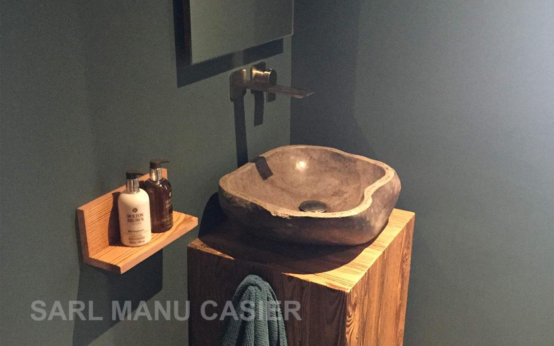 Réalisation d'un chalet à Morzine 10/2018 Installation chauffage et sanitaire