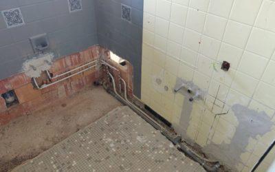 Rénovation d'une salle de bain à Évian 11/2020